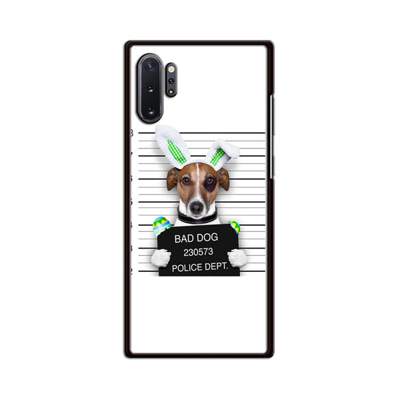 Bad Dog Police Wanted Samsung Galaxy Note 10 Plus Case | Babycasee