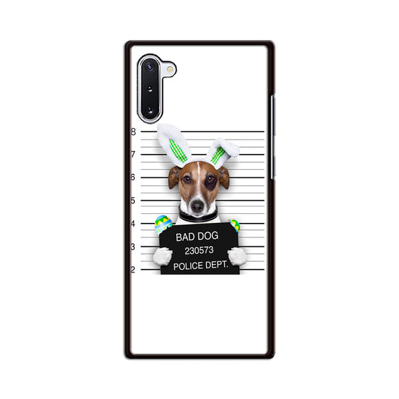 Bad Dog Police Wanted Samsung Galaxy Note 10 Case | Babycasee