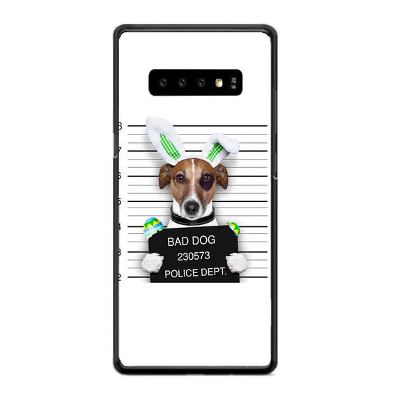 Bad Dog Police Wanted Samsung Galaxy S10e Case | Babycasee