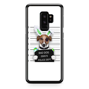 Bad Dog Police Wanted Samsung Galaxy S9 Plus| Babycasee