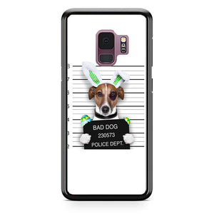 Bad Dog Police Wanted Samsung Galaxy S9 Case | Babycasee