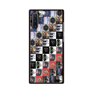 Band Album Compilation Samsung Galaxy Note 10 Plus Case | Babycasee