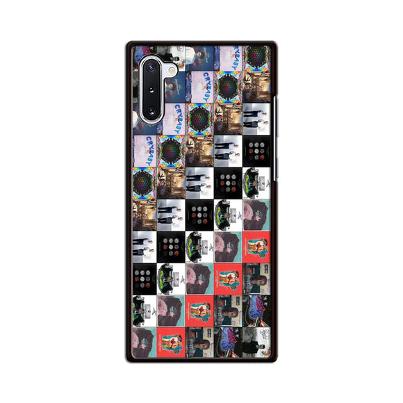 Band Album Compilation Samsung Galaxy Note 10 Case | Babycasee