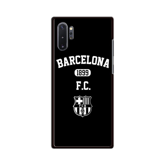 Barcelona Fc Black N White Samsung Galaxy Note 10 Plus Case | Babycasee