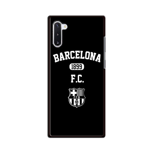 Barcelona Fc Black N White Samsung Galaxy Note 10 Case | Babycasee