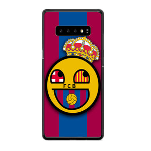 Barcelona Fc Emoticon Samsung Galaxy S10e Case | Babycasee