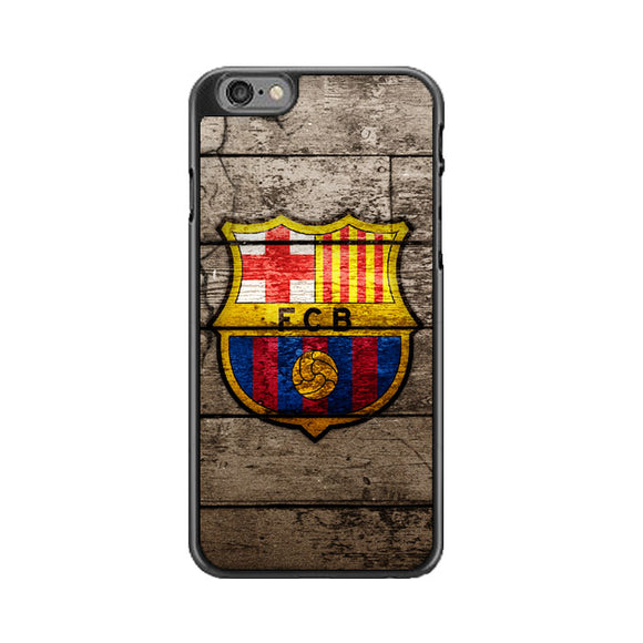 Barcelona Fc Wood Texture iPhone 6|6S Case | Babycasee