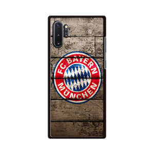 Bayern Munchen With Wood Texture Samsung Galaxy Note 10 Plus Case | Babycasee