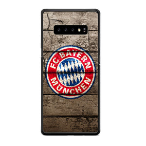 Bayern Munchen With Wood Texture Samsung Galaxy S10e Case | Babycasee