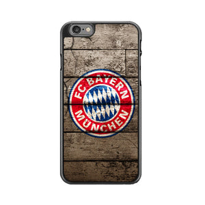 Bayern Munchen With Wood Texture iPhone 6|6S Case | Babycasee