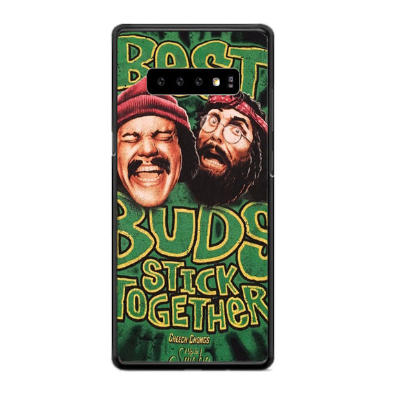 Best Buds Stick Together Cheech And Chong Samsung Galaxy S10 Plus Case | Babycasee