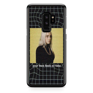 Billie Eilish Grid Background Samsung Galaxy S9 Plus| Babycasee