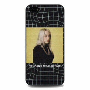 Billie Eilish Grid Background iPhone 5|5S|SE Case | Babycasee