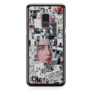 Billie Eilish Newspaper Collage Samsung Galaxy S9 Case | Babycasee