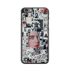 Billie Eilish Newspaper Collage iPhone 6|6S Case | Babycasee