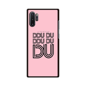 Black Pink Ddu Du Ddu Du Samsung Galaxy Note 10 Plus Case | Babycasee