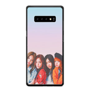 Blackpink Gradient Girl Samsung Galaxy S10 Case | Babycasee
