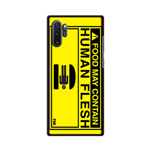 Bobs Burgers Human Flesh Samsung Galaxy Note 10 Plus Case | Babycasee