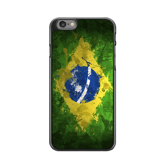 Brazil Splater Flag iPhone 6 Plus|6S Plus Case | Babycase