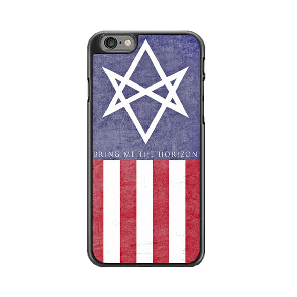 Bring Me The Horizon Amo America Flag iPhone 6 Plus|6S Plus Case | Babycase