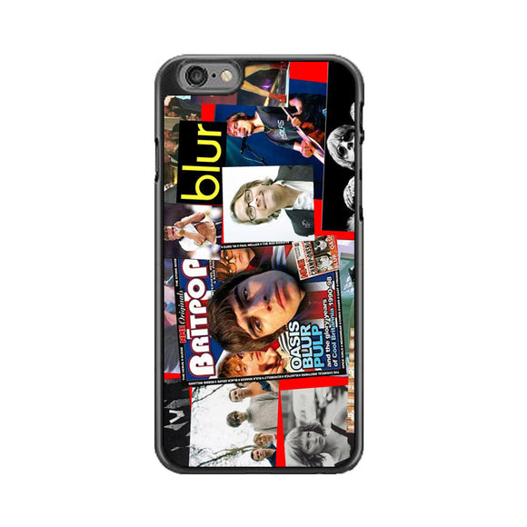 Britpop Compilation iPhone 6 Plus|6S Plus Case | Babycase