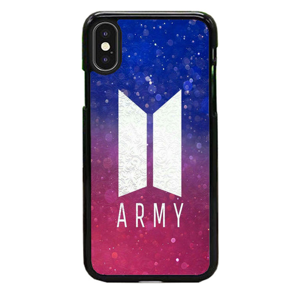 Bts Army Bokeh Gradient iPhone XS Case | Babycase
