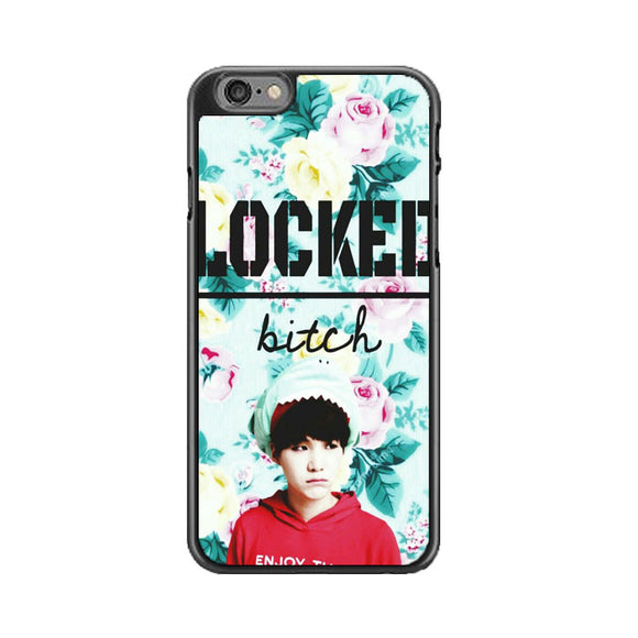 Bts Jungkook Locked Bitch iPhone 6 Plus|6S Plus Case | Babycase