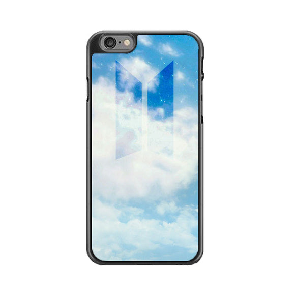 Bts Logo Blue Sky iPhone 6 Plus|6S Plus Case | Babycase
