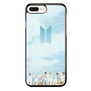 Bts On The Blue Sky iPhone 8 Plus Case | Babycase