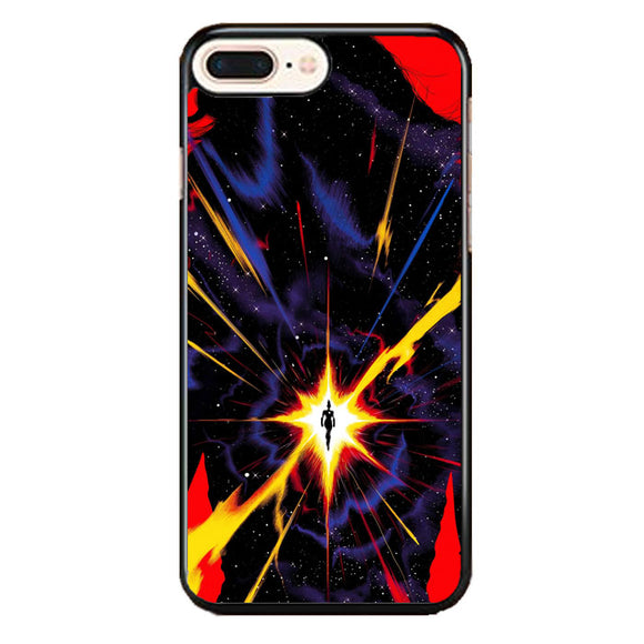 Captain Marvel Galaxy iPhone 8 Plus Case | Babycase