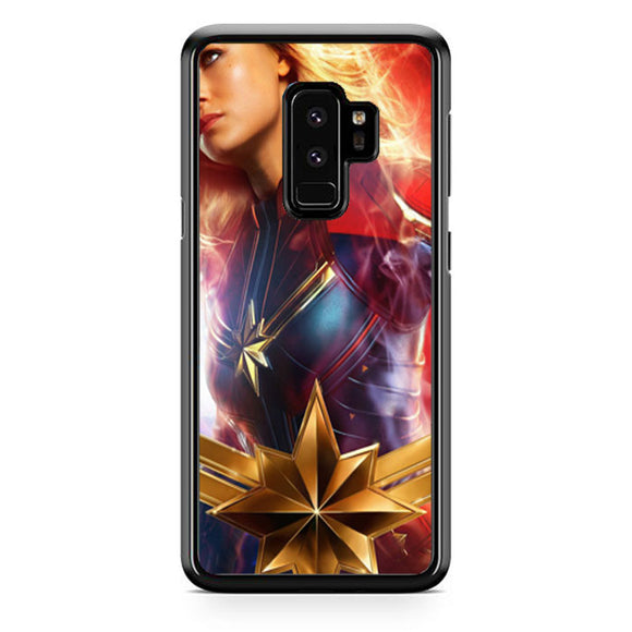 Captain Marvel Girl Heroes Samsung Galaxy S9 Plus Case | Babycase