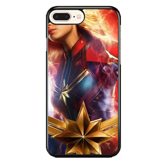 Captain Marvel Girl Heroes iPhone 8 Plus Case | Babycase