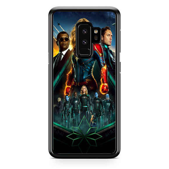 Captain Marvel Make Peace World Samsung Galaxy S9 Plus Case | Babycase