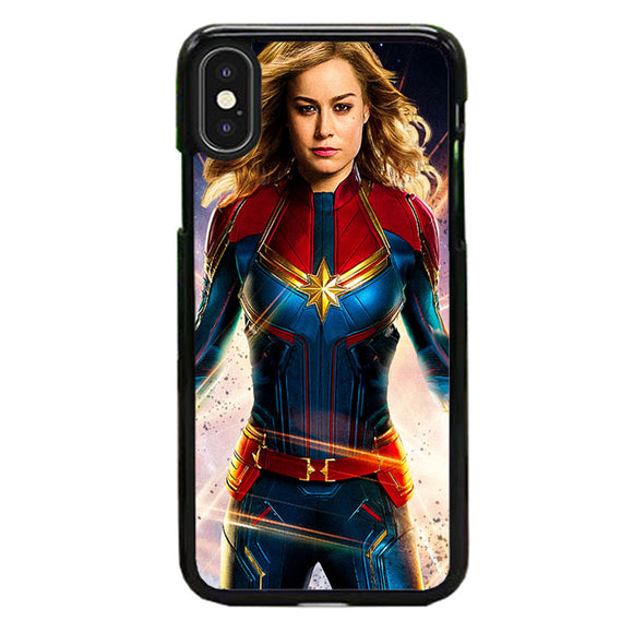 Captain Marvel Super Heroes Girls iPhone X Case | Babycase
