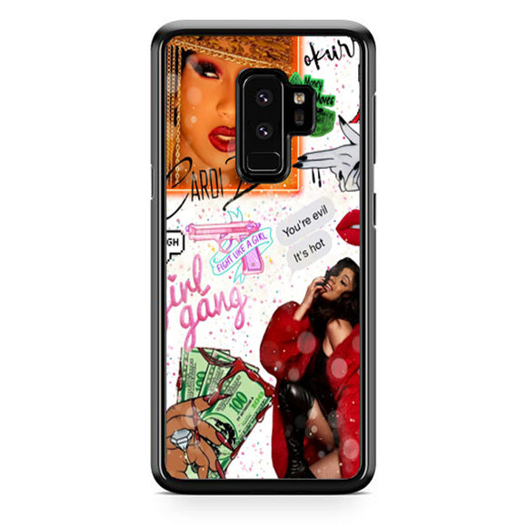Cardi B Living Prince Collage Samsung Galaxy S9 Plus Case | Babycase