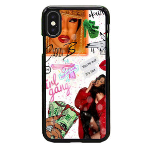 Cardi B Living Prince Collage iPhone XS Max Case | Babycase