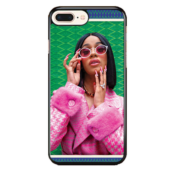 Cardi B Newyork Pattern iPhone 7 Plus Case | Babycase