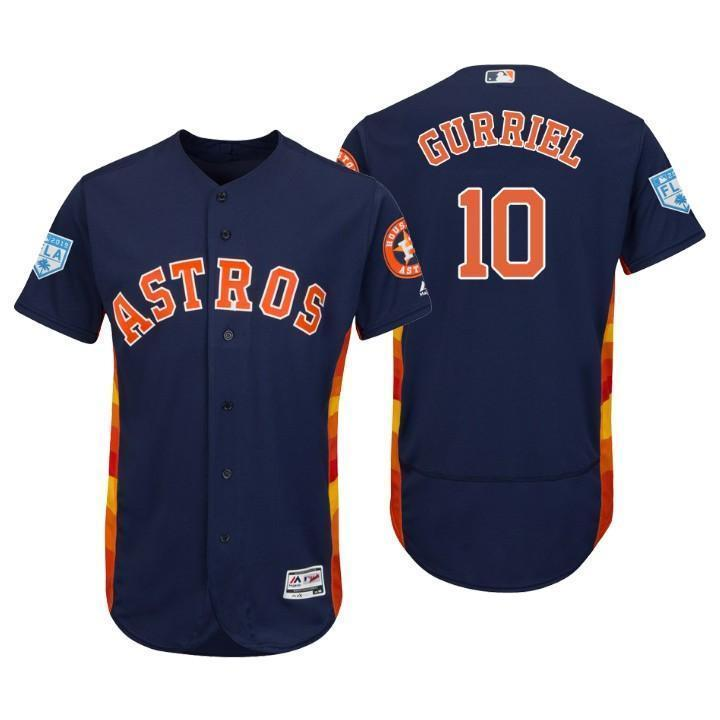 wholesale dealer 5abfb fbe11 Yuli Gurriel Houston Astros 2019 Spring Training Baseball Player Jersey