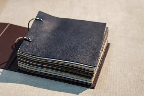 products made from premium grade leather