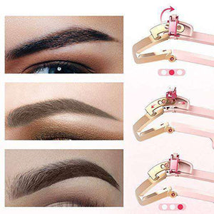 Adjustable Eyebrow Stencil® Makeup