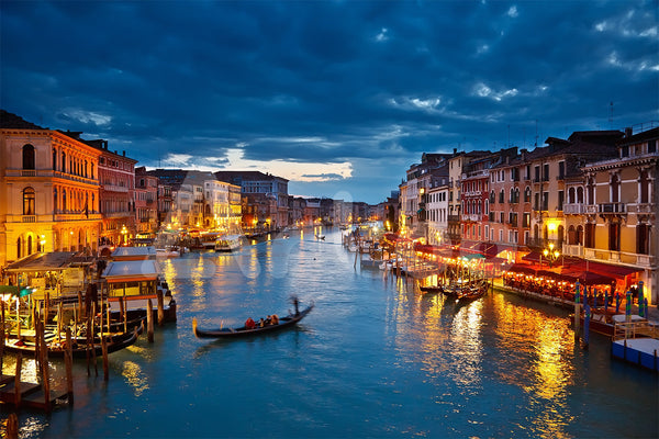 威尼斯 Grand Canal at night, Venice