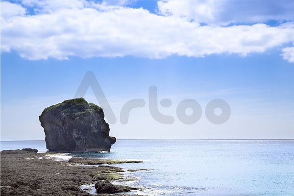 墾丁船帆石  Sail rock in the kenting national park