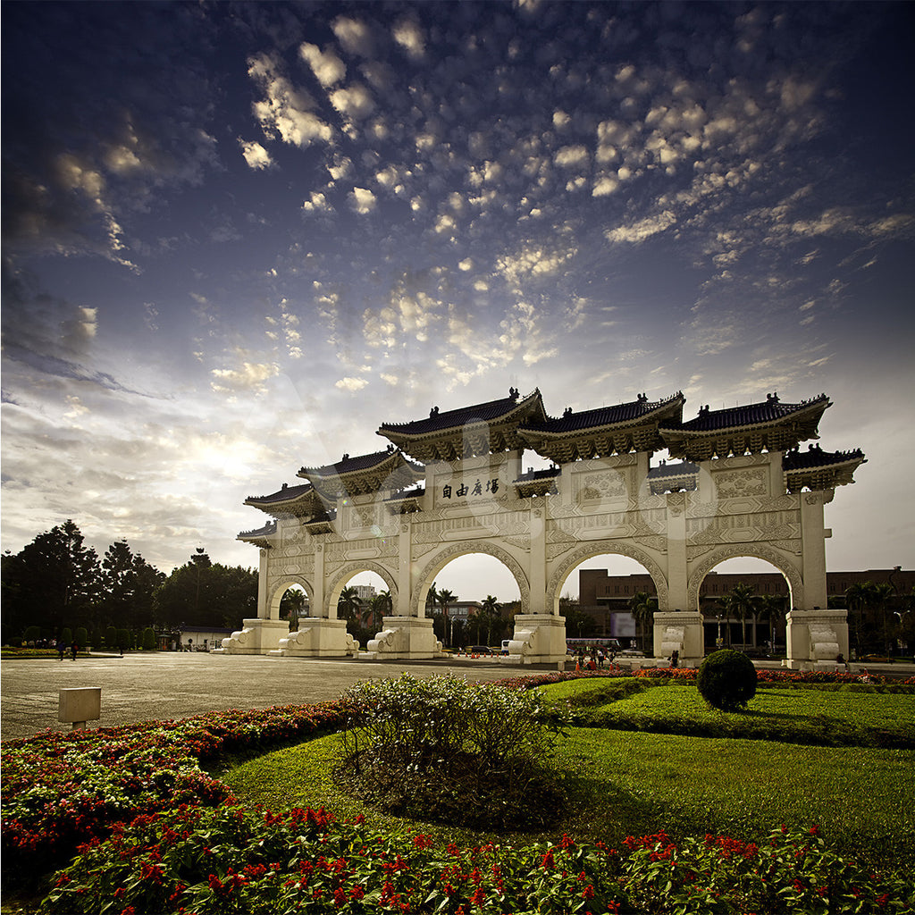 自由廣場  Chiang Kai Shek memorial hall