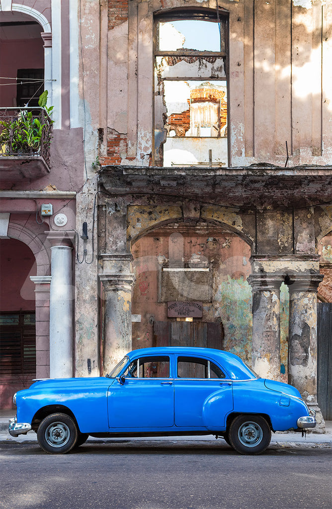 復古轎車  Vintage vehicle in Havana