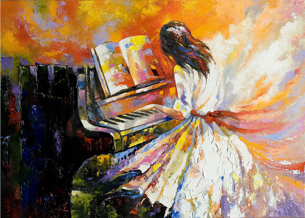 彈鋼琴的女孩  The Girl Playing the Piano