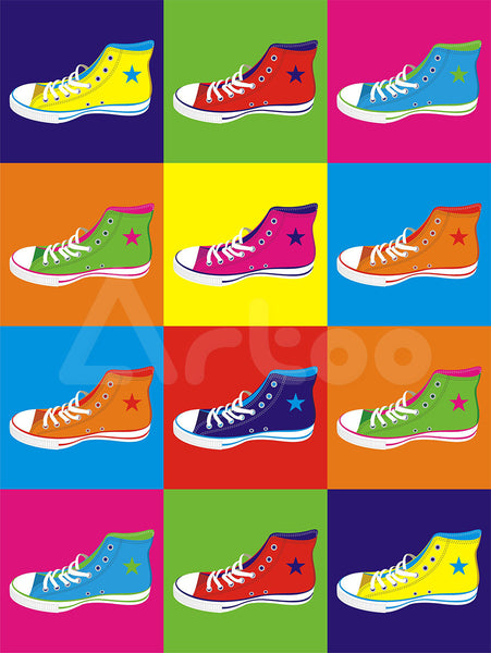 多彩球鞋  Colorful Sneakers