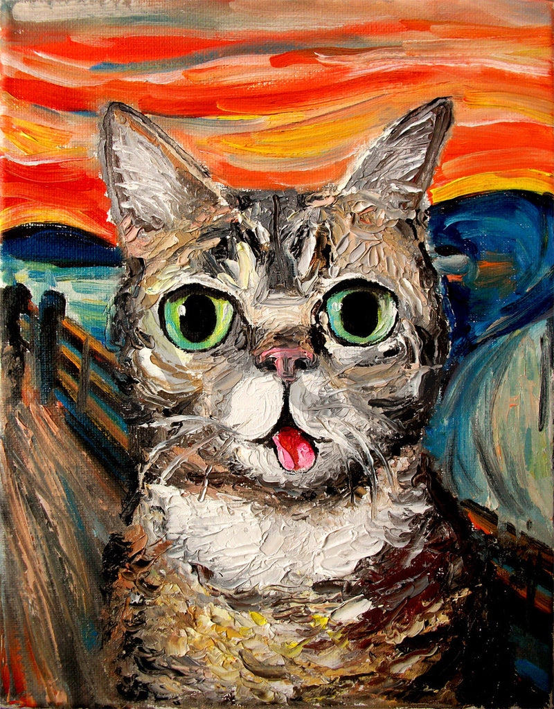 小巴布的吶喊 Lil Bub Meets The Scream