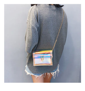 Sabrina Holo Shoulder Bag