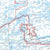 First Generation Map 5 - Granite River Route, Magnetic, Gunflint and Northern Light Lakes