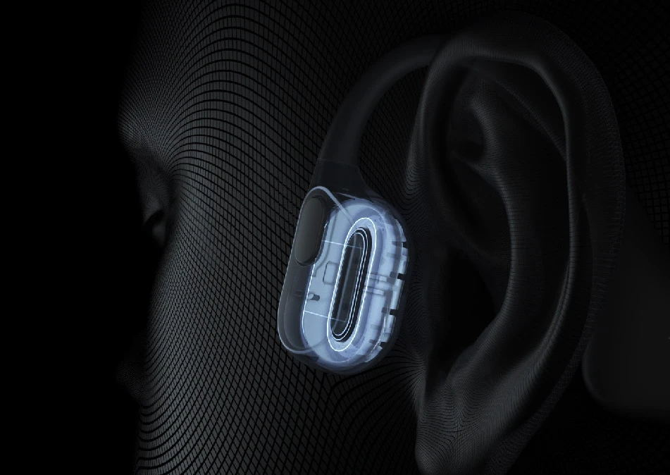 Open-ear Design with Bone Conduction Technology
